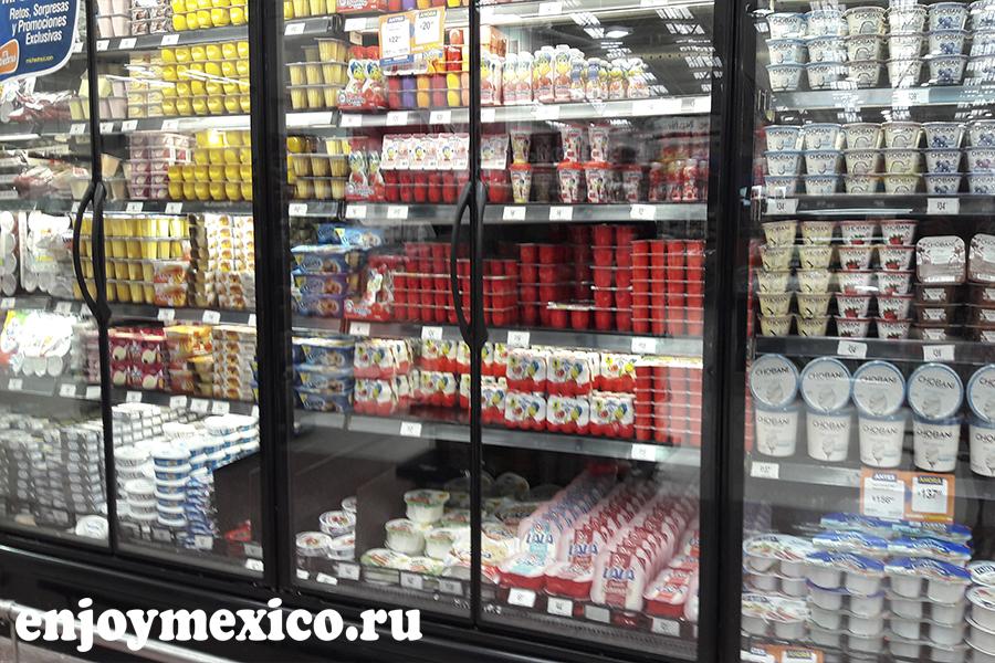 цены в мексике на молочку