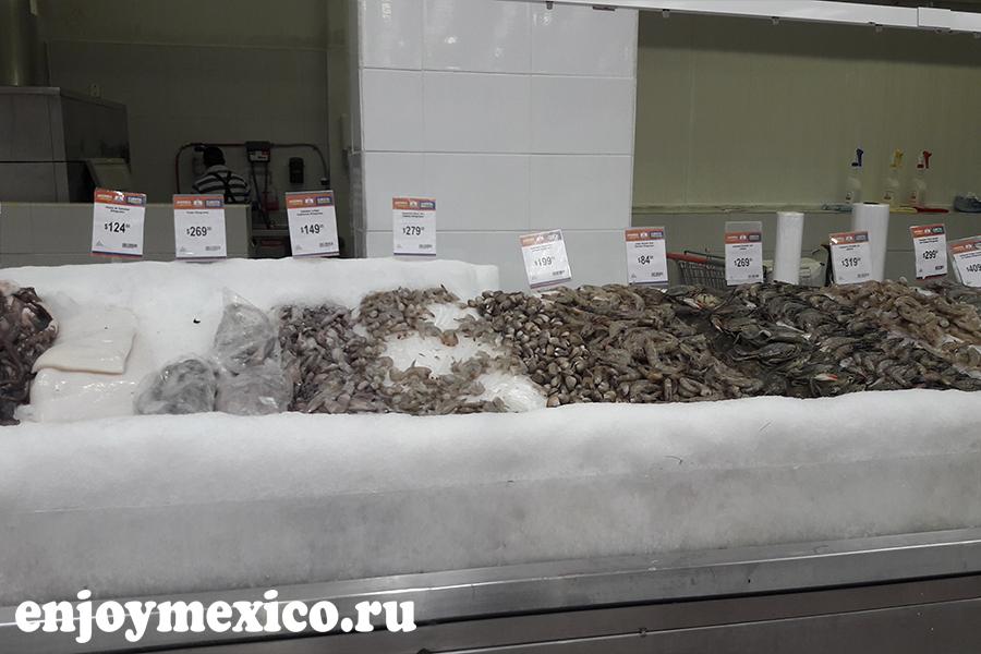 цены в мексике на морепродукты