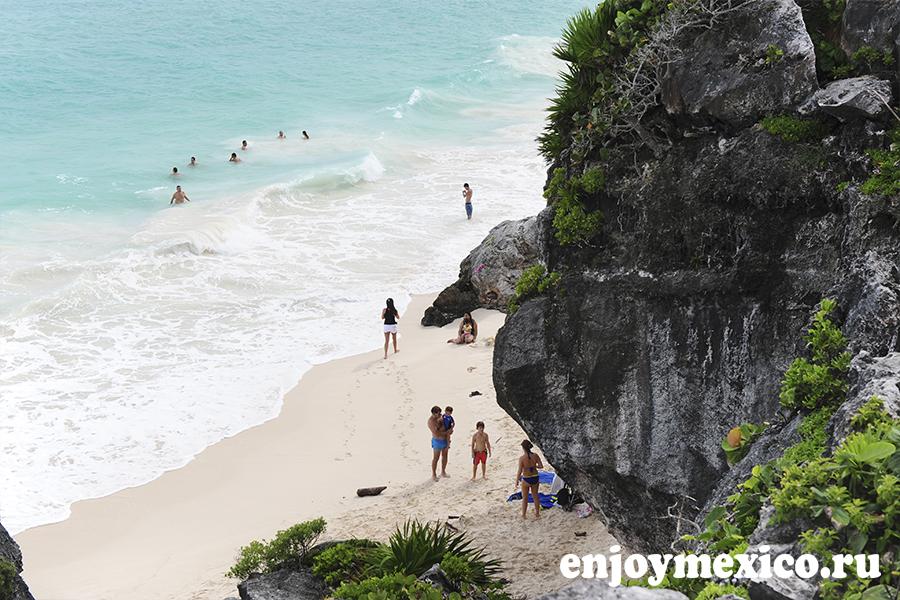 тулум мексика пляж в музее
