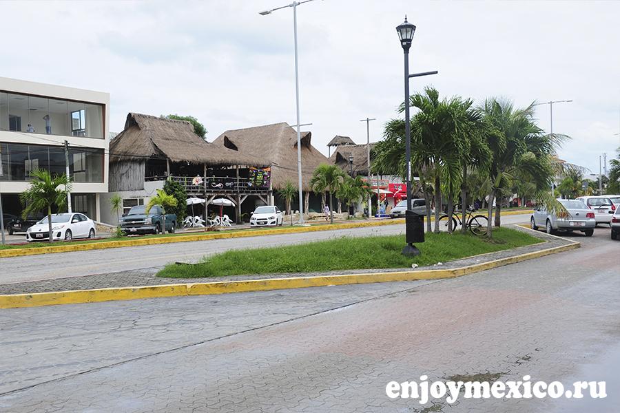 тулум мексика улица фото