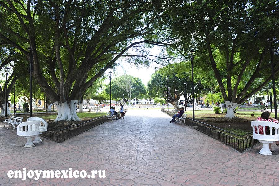 вальядолид мексика фото парка