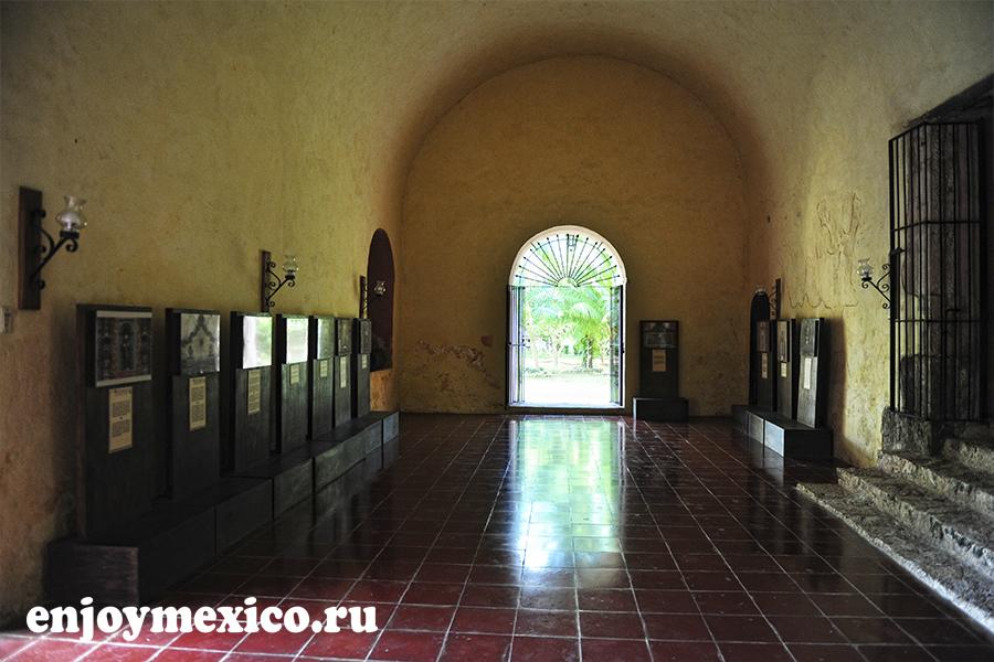 вход в сан бернардино де сиена вальядолид мексика