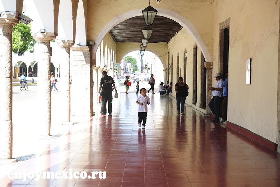 вход в библиотеку вальядоли мексика