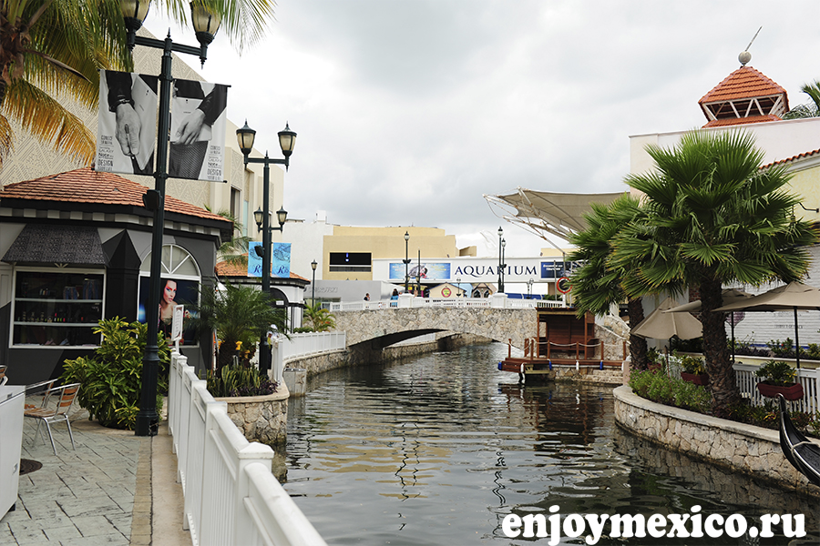 красивое фото шоппинг мола в канкуне мексика
