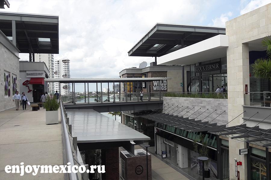 в канкуне мексика шоппинг мол