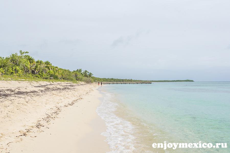красивые пляжи косумеля