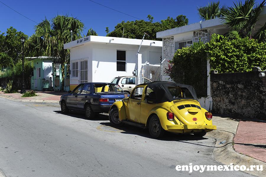 машина на острове косумель