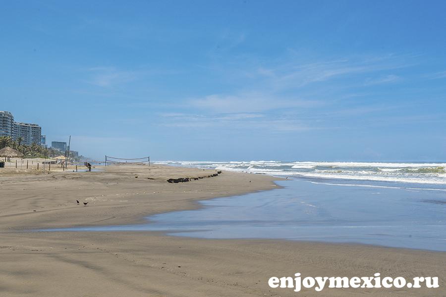 пляж в акапулько мексика