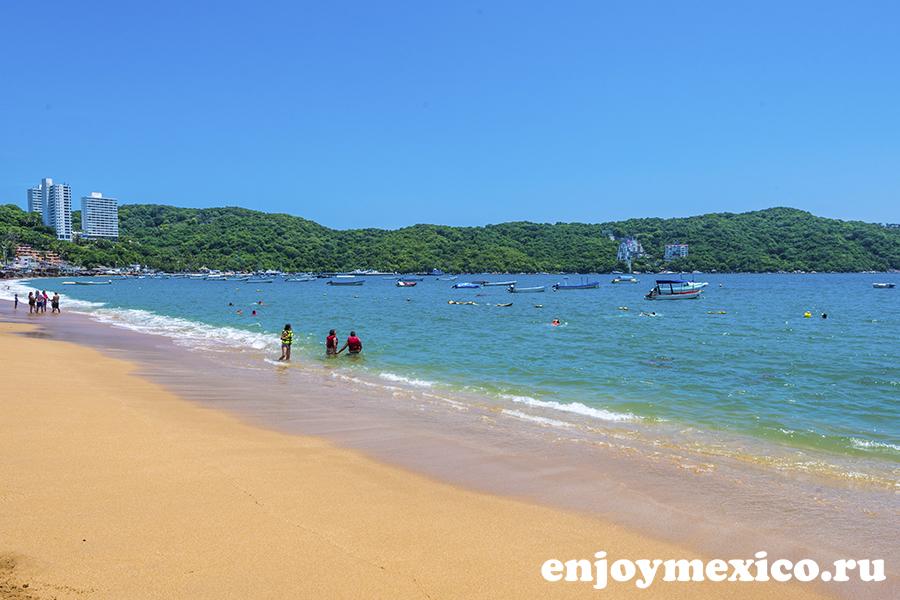 пляж маркес акапулько мексика
