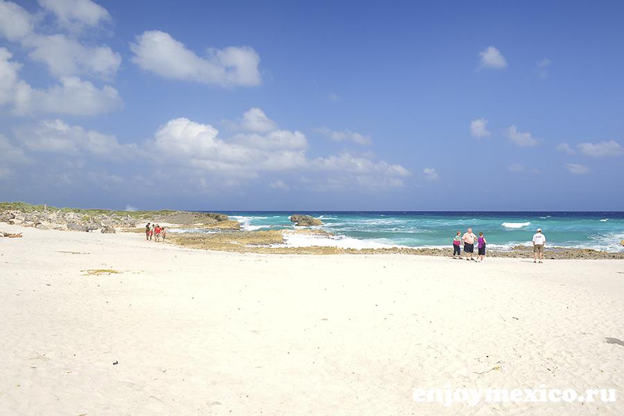 пляж на косумель мексика
