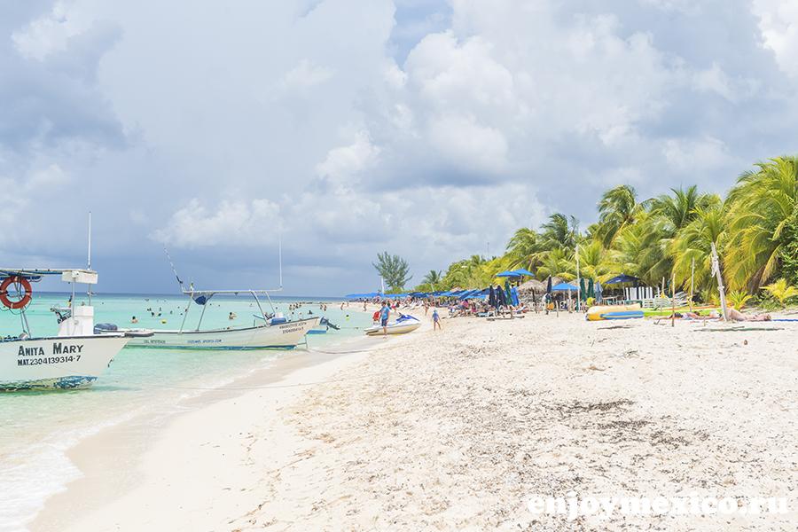 пляж паланкар мексика косумель