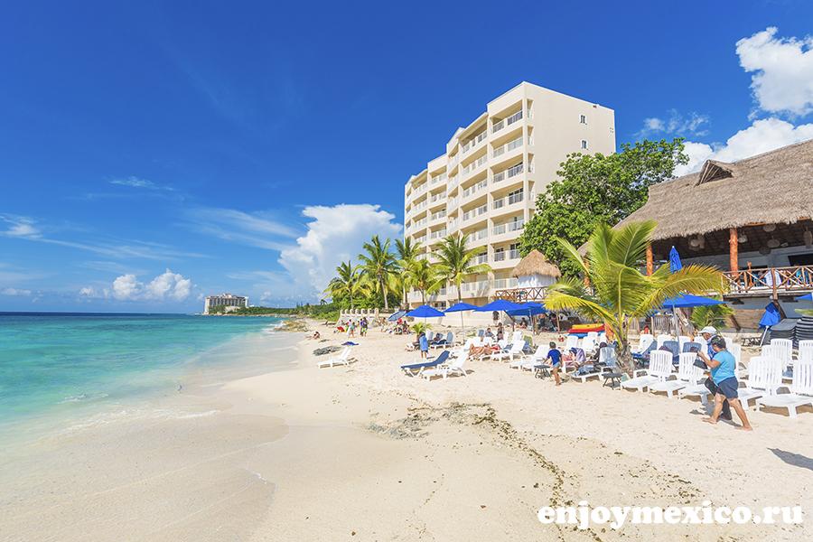 пляжный клуб tequila косумель мексика