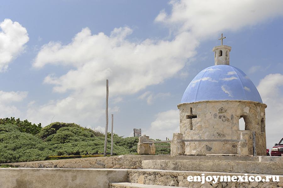 церковь на косумель мексика