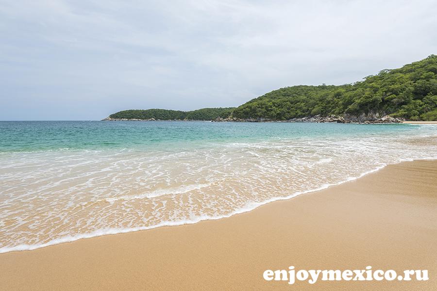 фото пляж органо уатулько