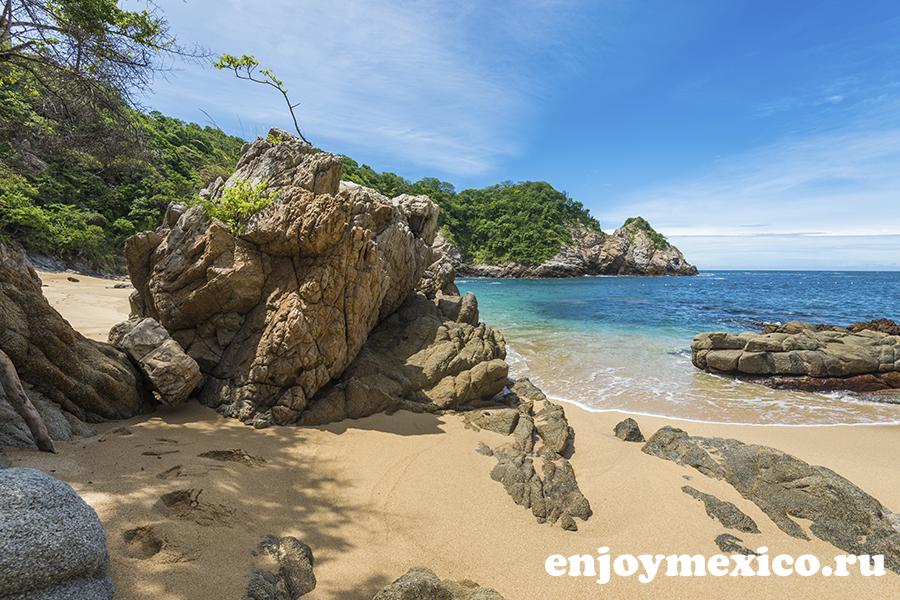 фото пляж виолин уатулько мексика