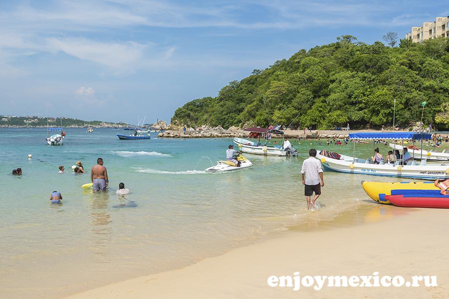 лучшие пляжи уатулько энтрега