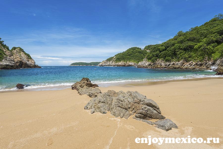 лучшие пляжи уатулько мексика