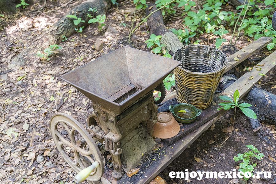 машина по обработке кофе