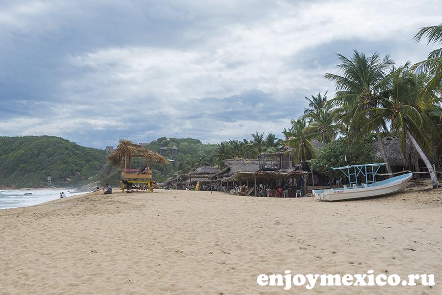 мексика масунте фото пляжа