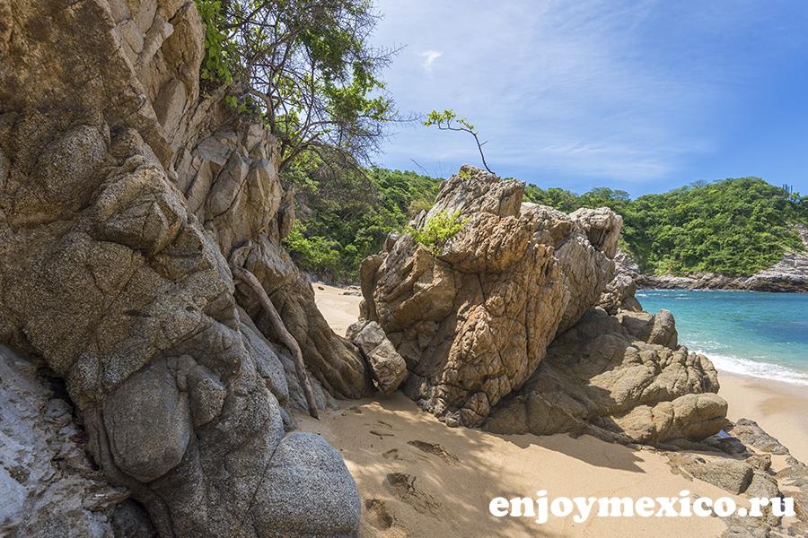 мексиканские пляжи уатулько
