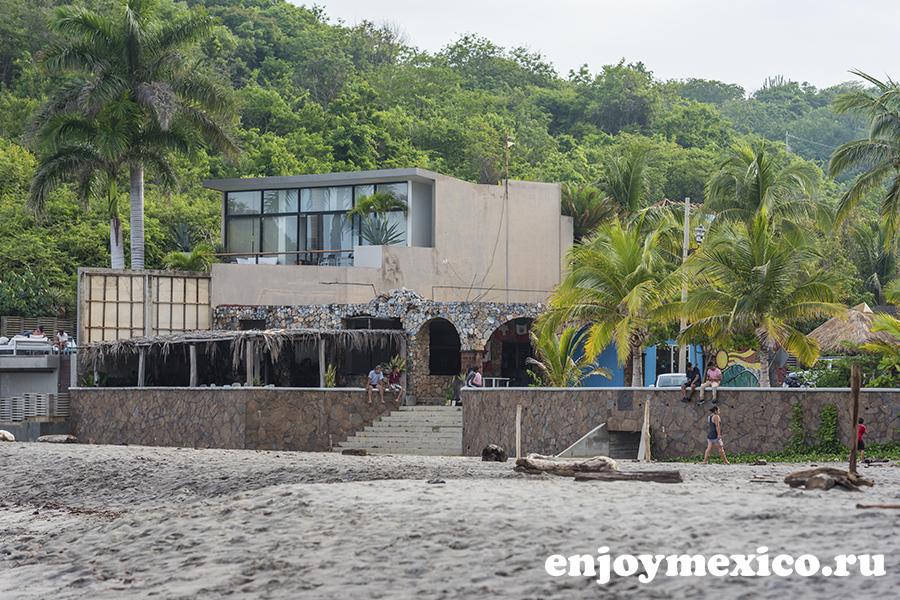 отель на пляже ла бокана уатулько мексика