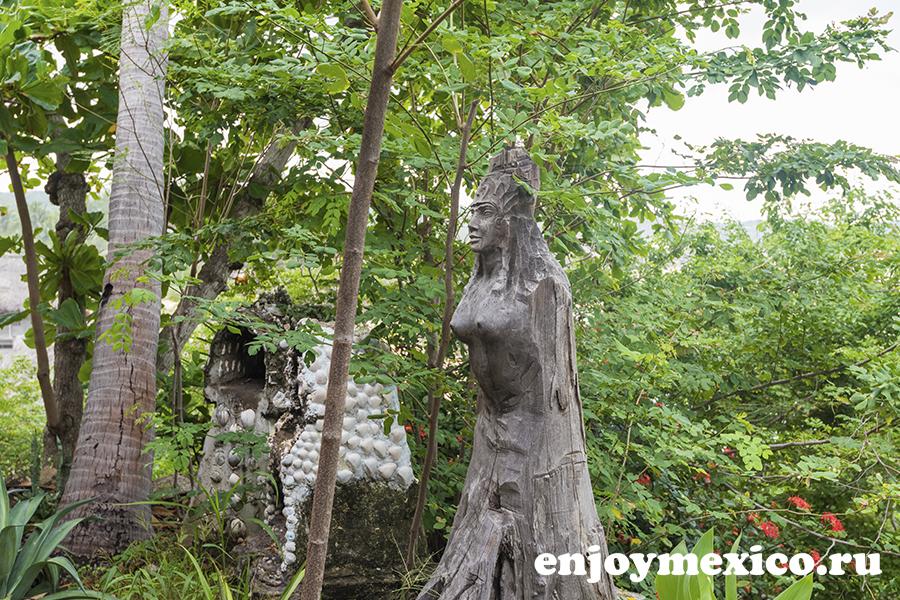 отель шамбала зиполите мексика скульптура