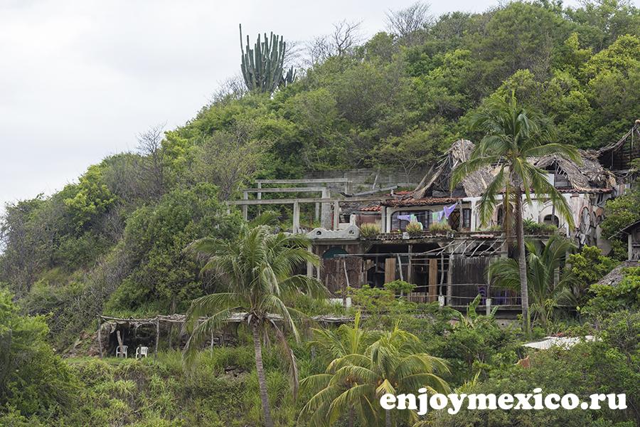 отель шамбала зиполите мексика