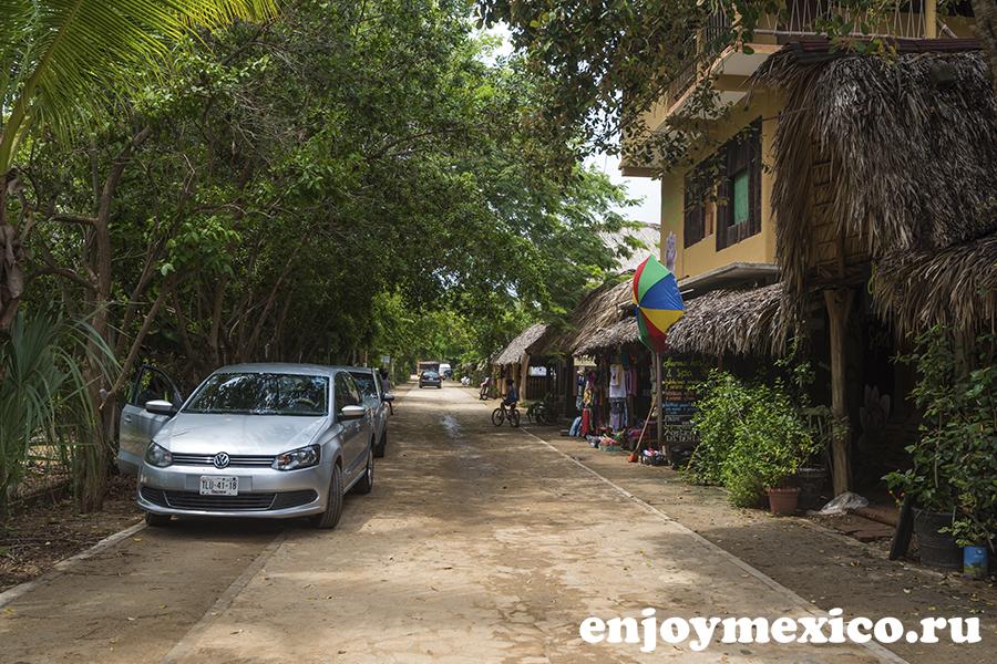 перед входом пляж масунте мексика