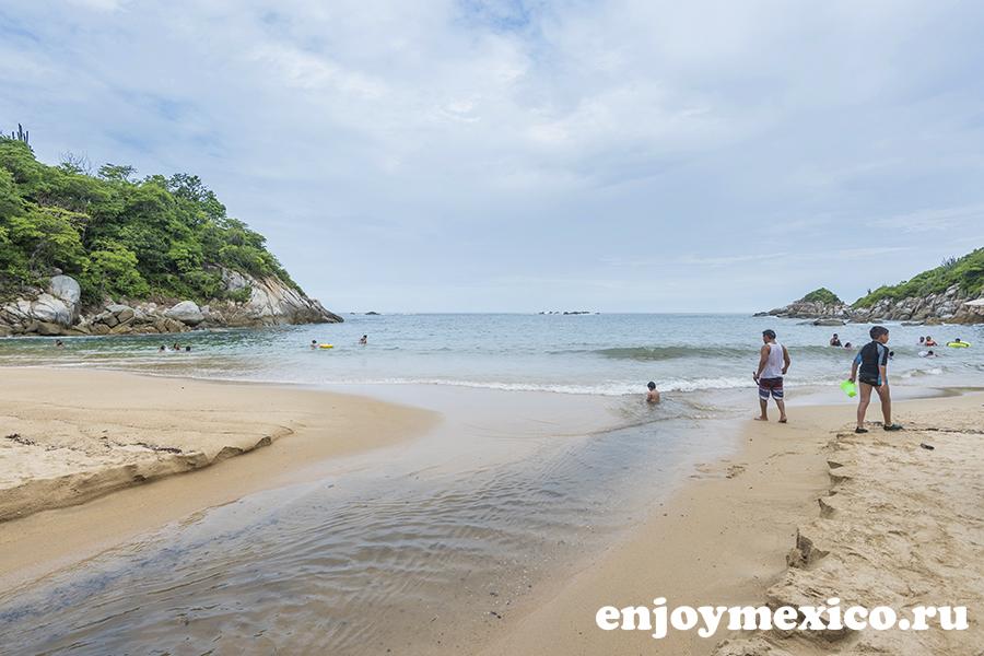 пляж арросито уатулько мексика фото