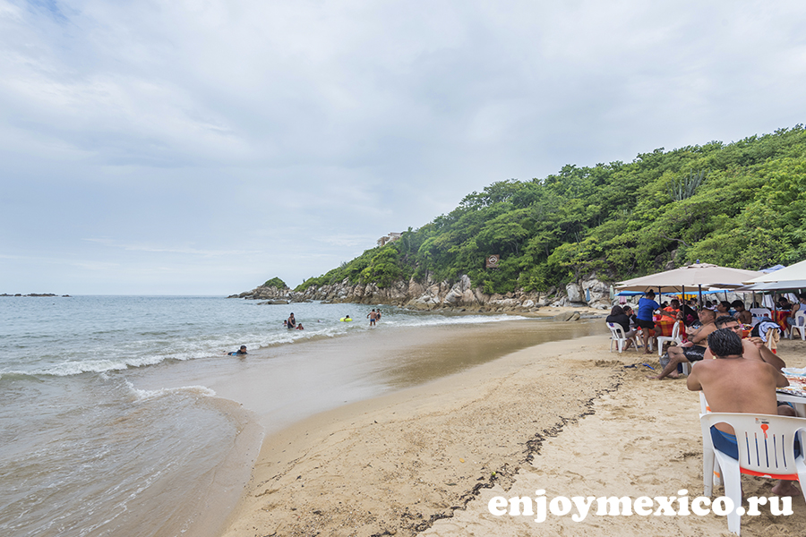пляж арросито уатулько мексика