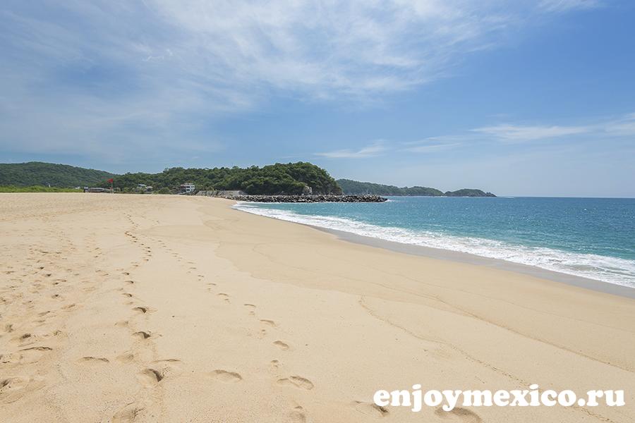 пляж чаке уатулько фотография