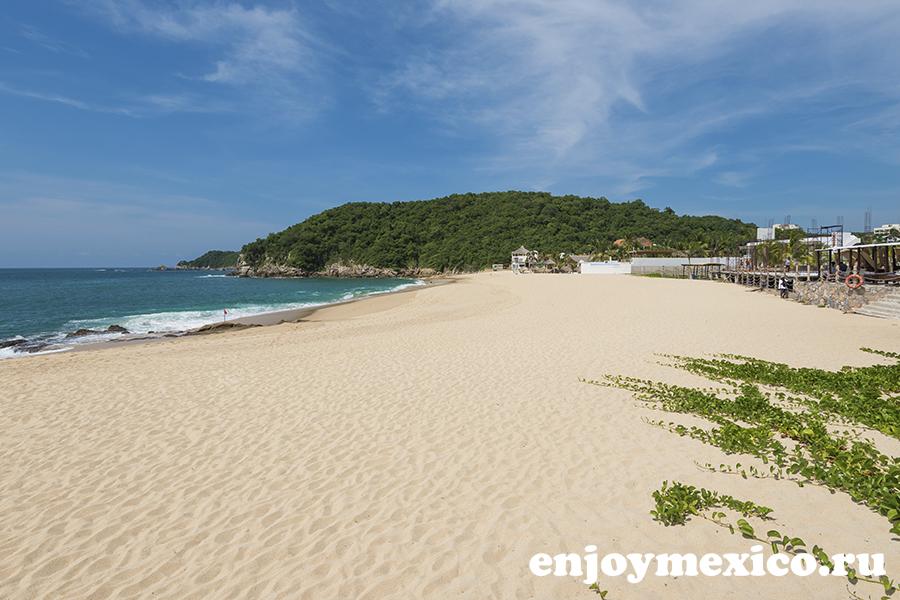 пляж чаке уатулько мексика