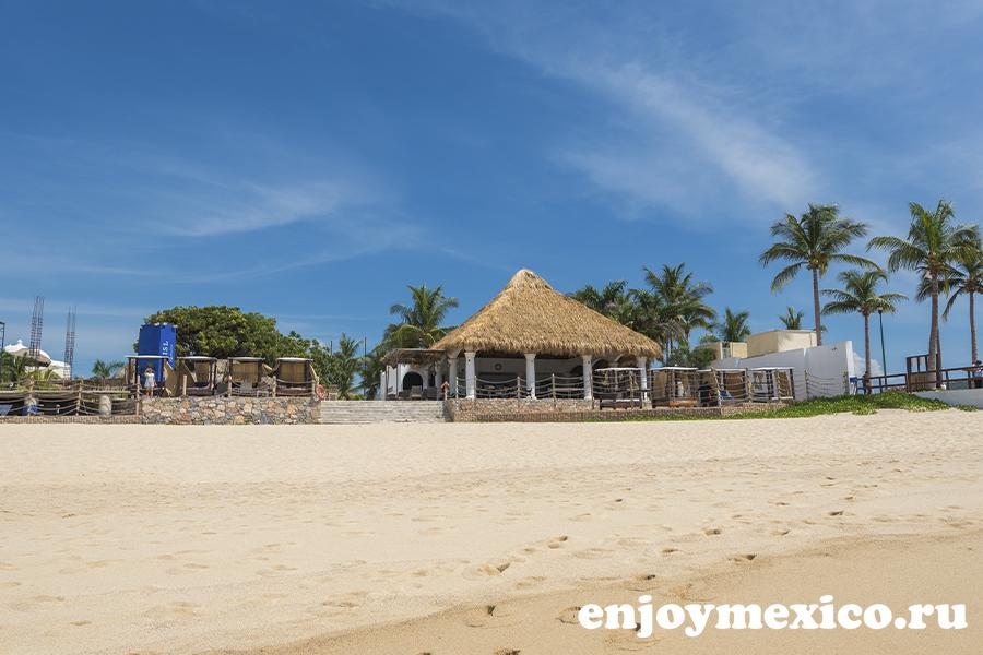 пляж чаке уатулько в мексике