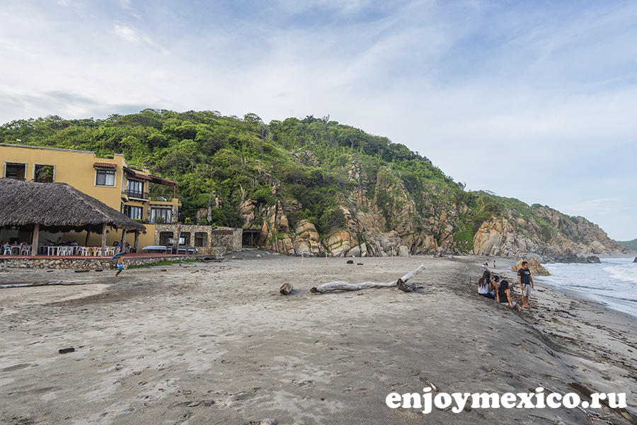 пляж ла бокана уатулько мексика фото