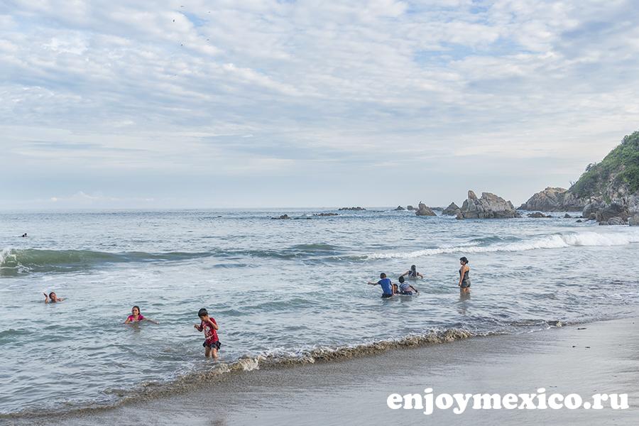 пляж ла бокана уатулько мексика фотография