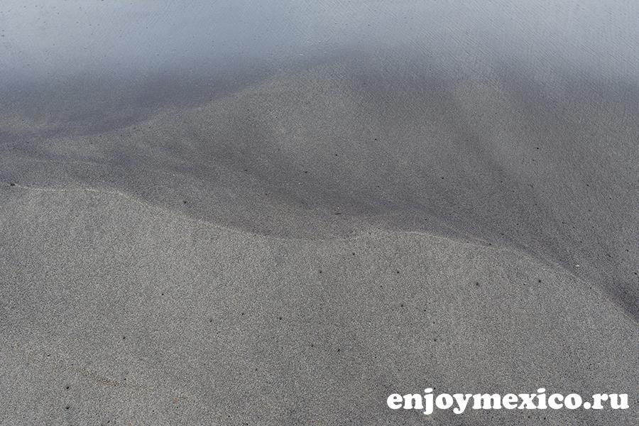 пляж ла бокана уатулько мексика черный песок