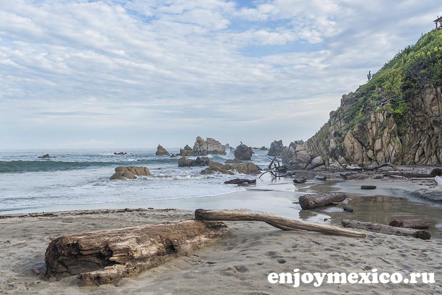 пляж ла бокана уатулько в мексике
