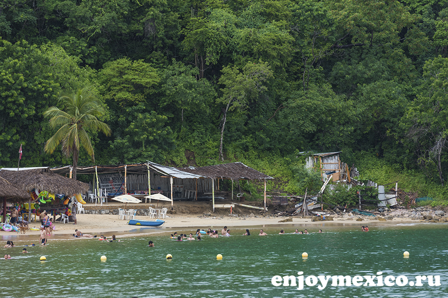 пляж магей в уатулько мексика фото издалека