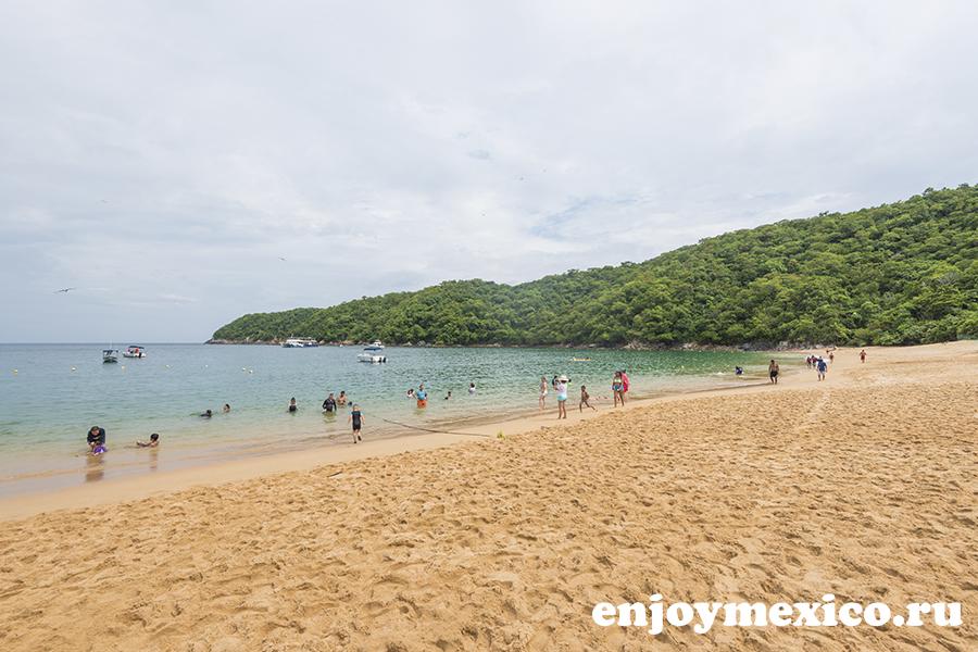 пляж магей в уатулько мексика фото