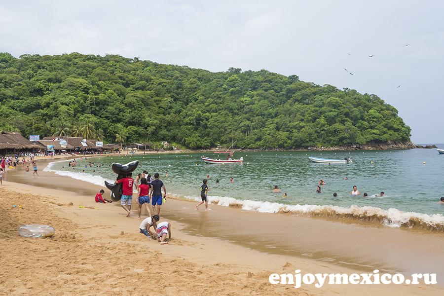 пляж магей в уатулько мексика фотография