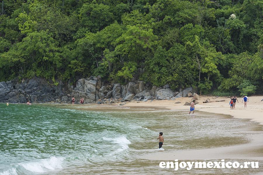 пляж магей в уатулько мексика красивое фото