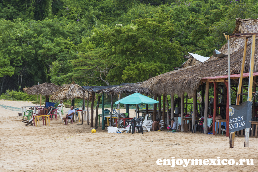 пляж магей в уатулько мексика рестораны