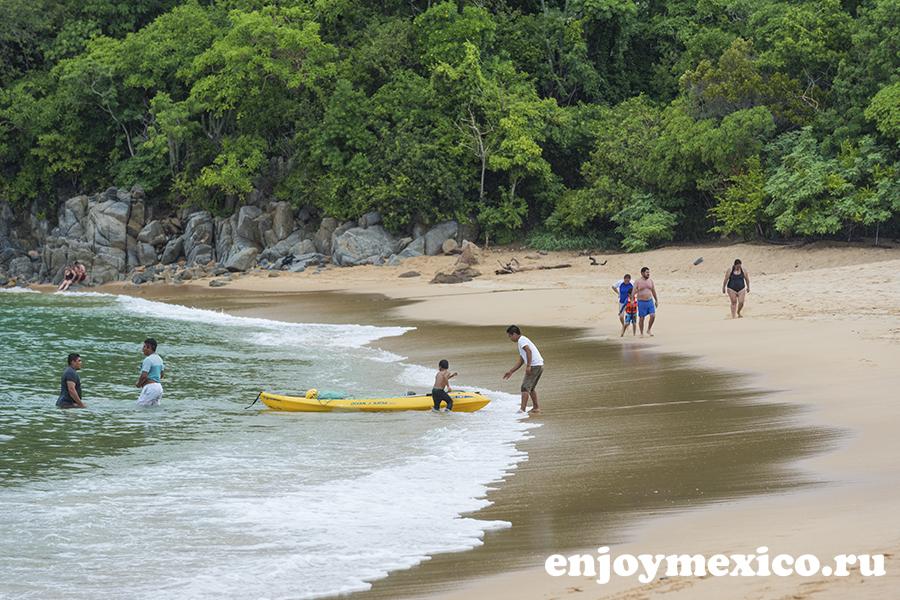 пляж магей в уатулько мексика