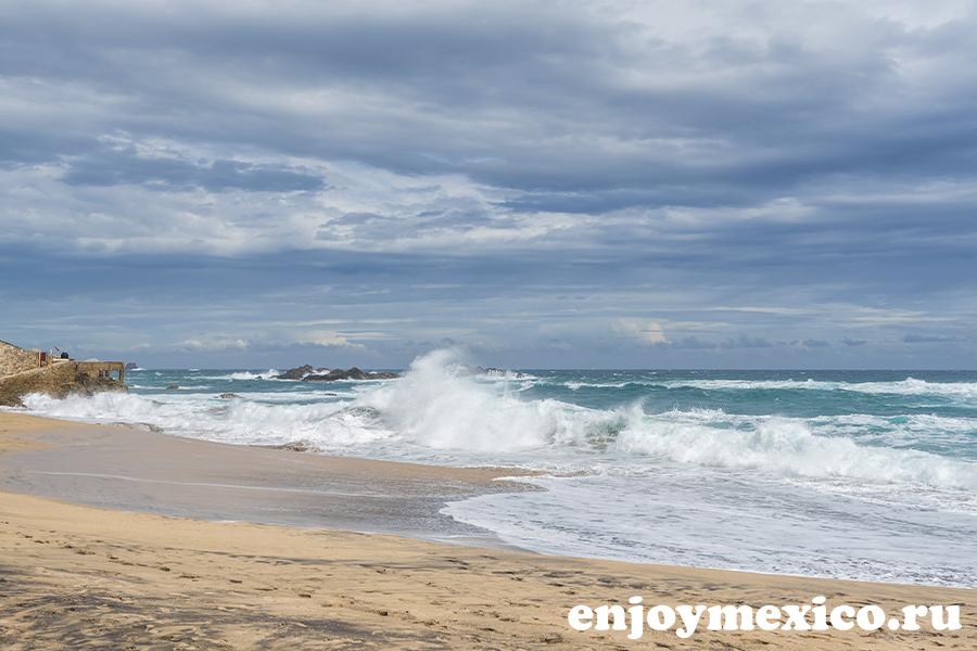 пляж масунте мексика фотография