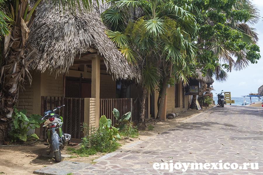 пляж масунте мексика улица