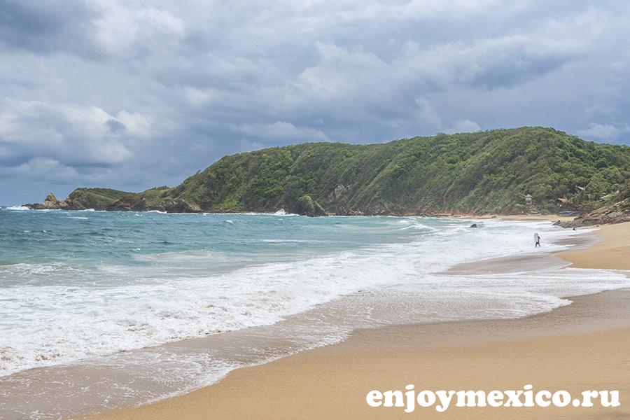 пляж масунте мексика