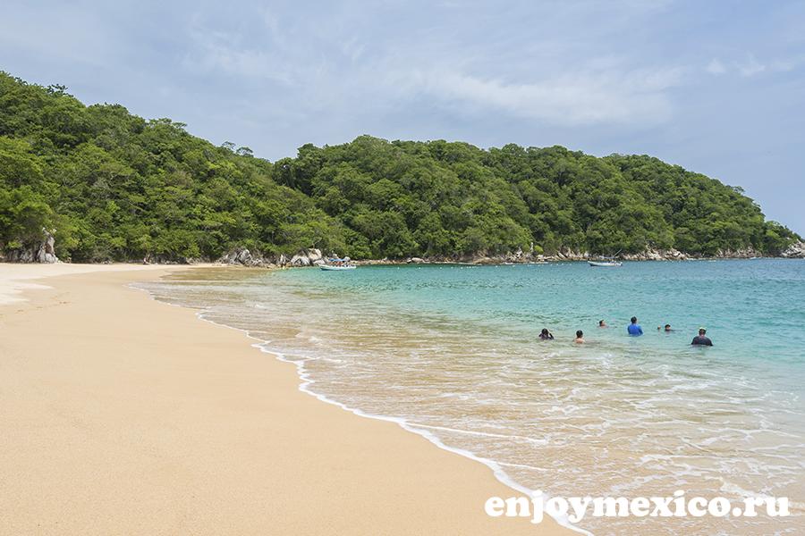 пляж органо уатулько фотография