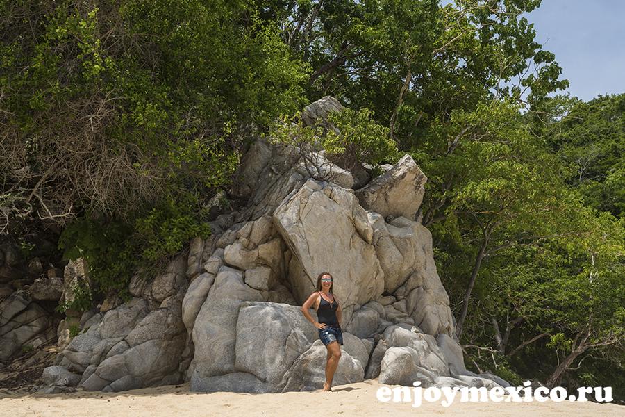 пляж органо уатулько мексика