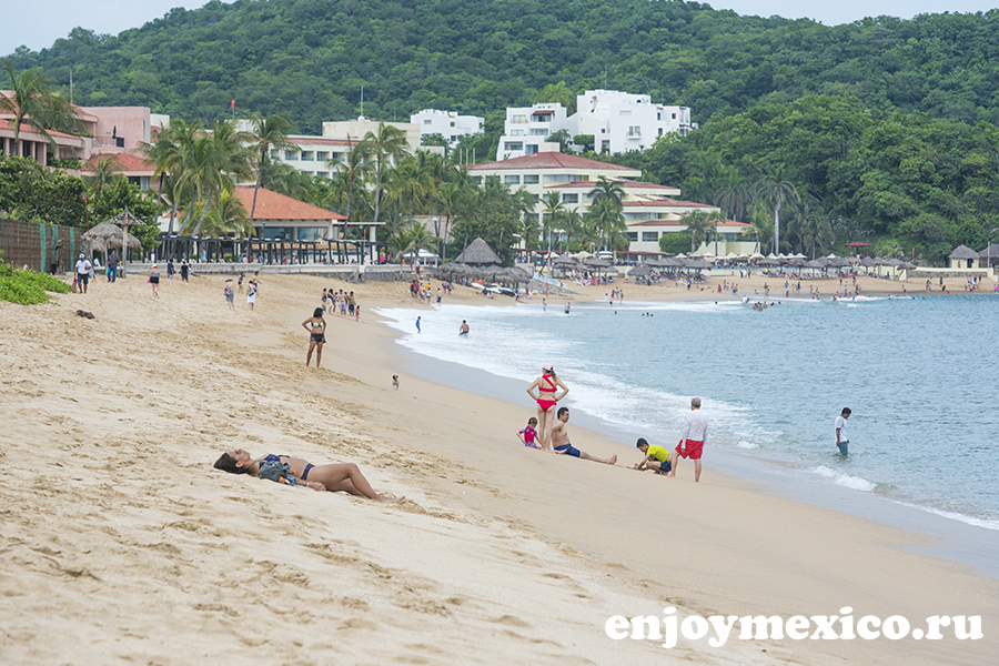 пляж танголунда уатулько мексика