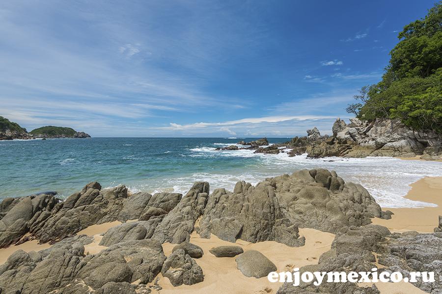 пляж техонсито ватулько мексика фото